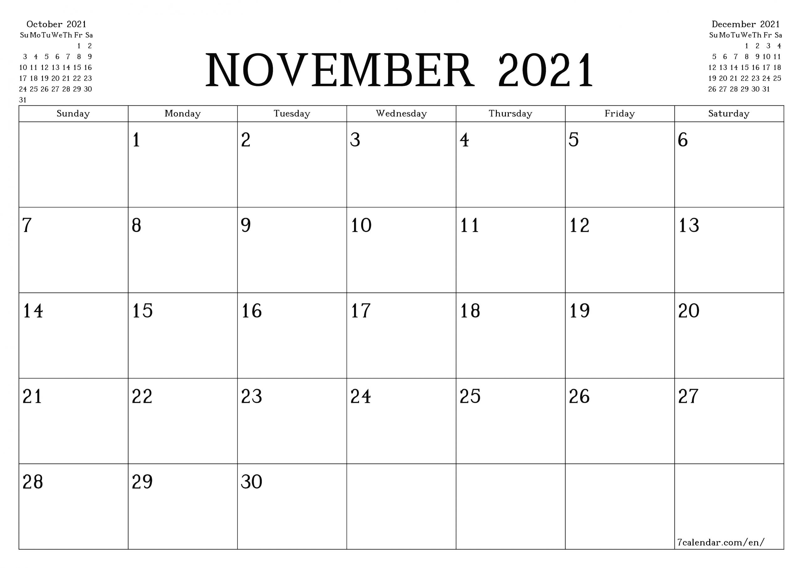 5 X 7 Printable Calendar 2021 6 Months | Printable
