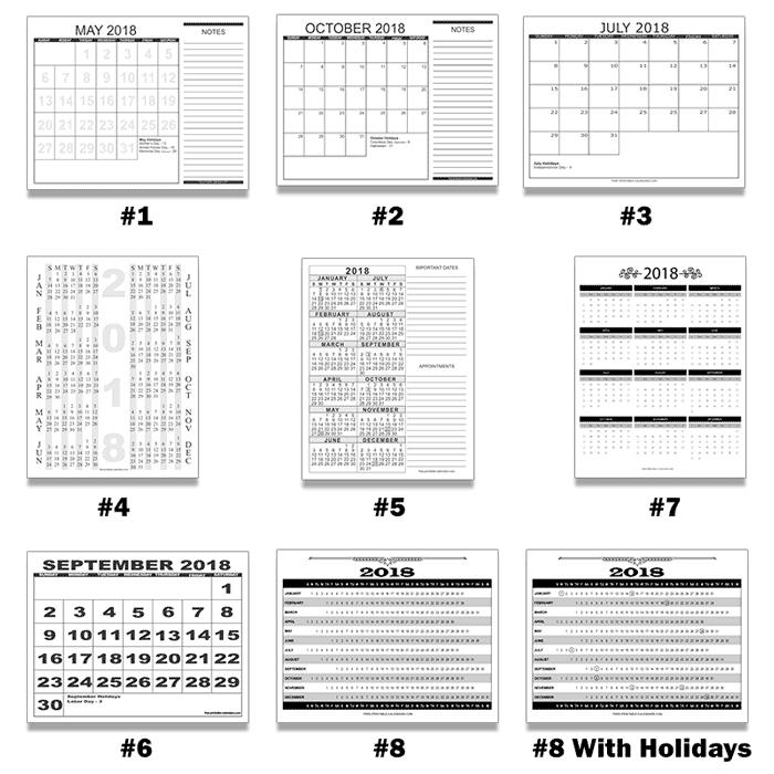 8 1/2 x 11 blank calendar printable photo | calendar