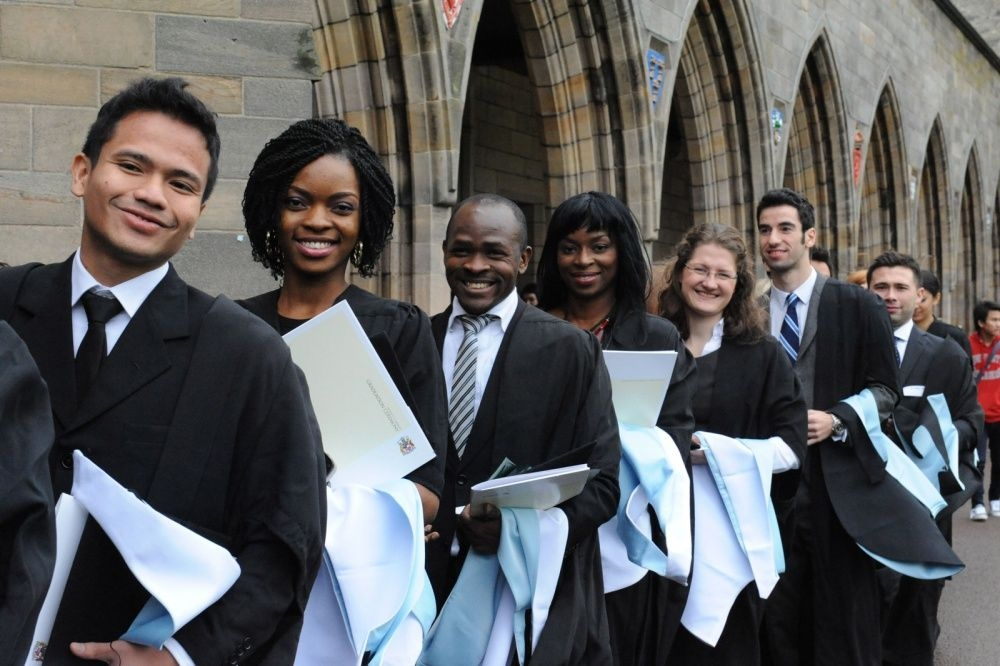 83% of scots say it's better for international students to