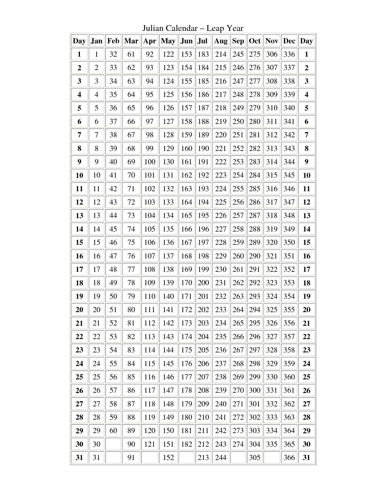 A Leap Year Calendar | Ten Free Printable Calendar 2020 2021