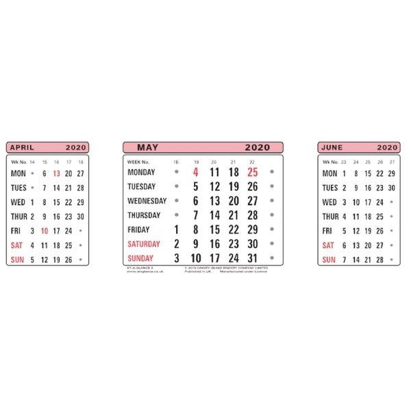 at a glance calendar refill 2021 | 3sr21