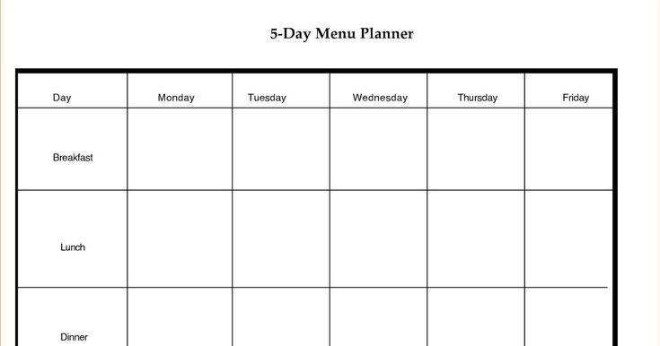 blank 5 day week calendar blank calendar template dowload