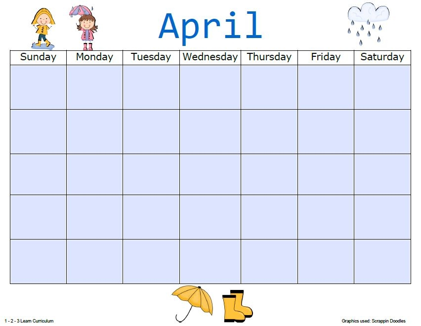 Blank Calendar Template Sheets Added To 1 2 3 Learn
