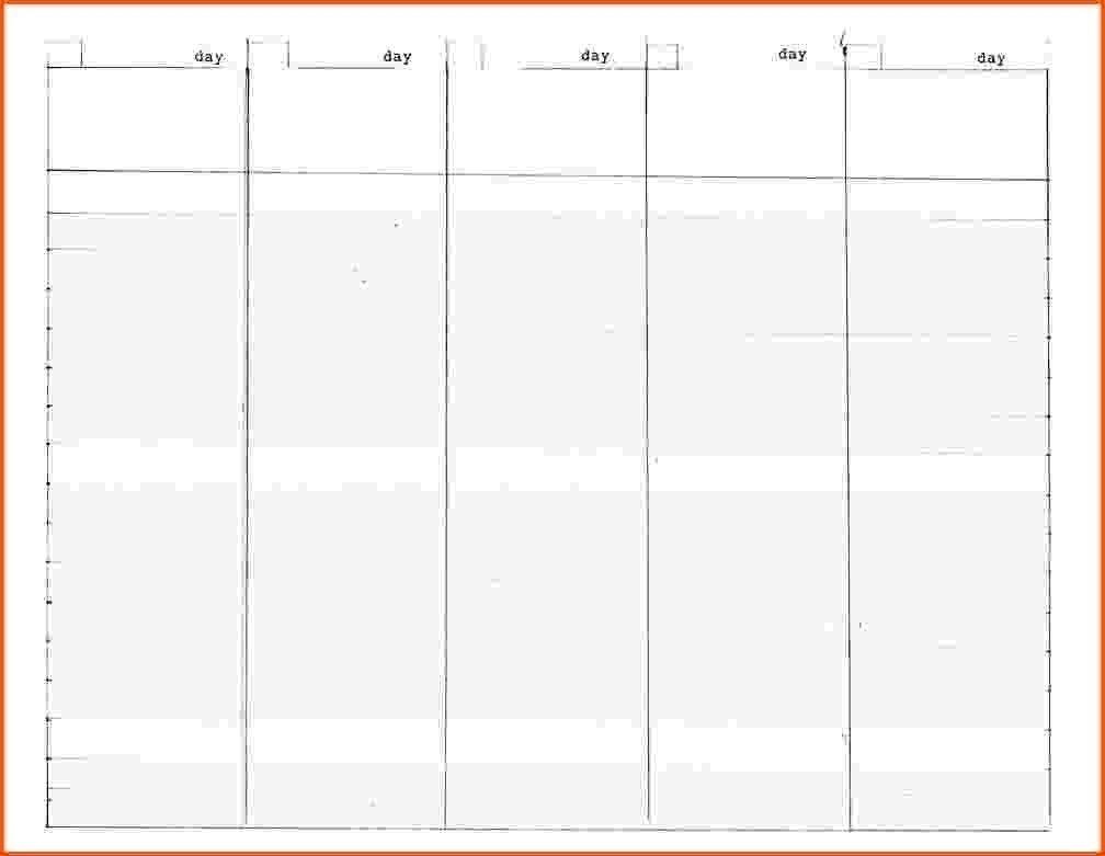Blank Calender 5 Weeks | Printable Calendar Template 2021