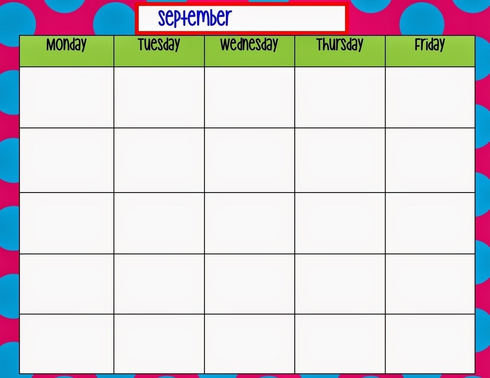 blank monthly calendar starting with saturday   printable