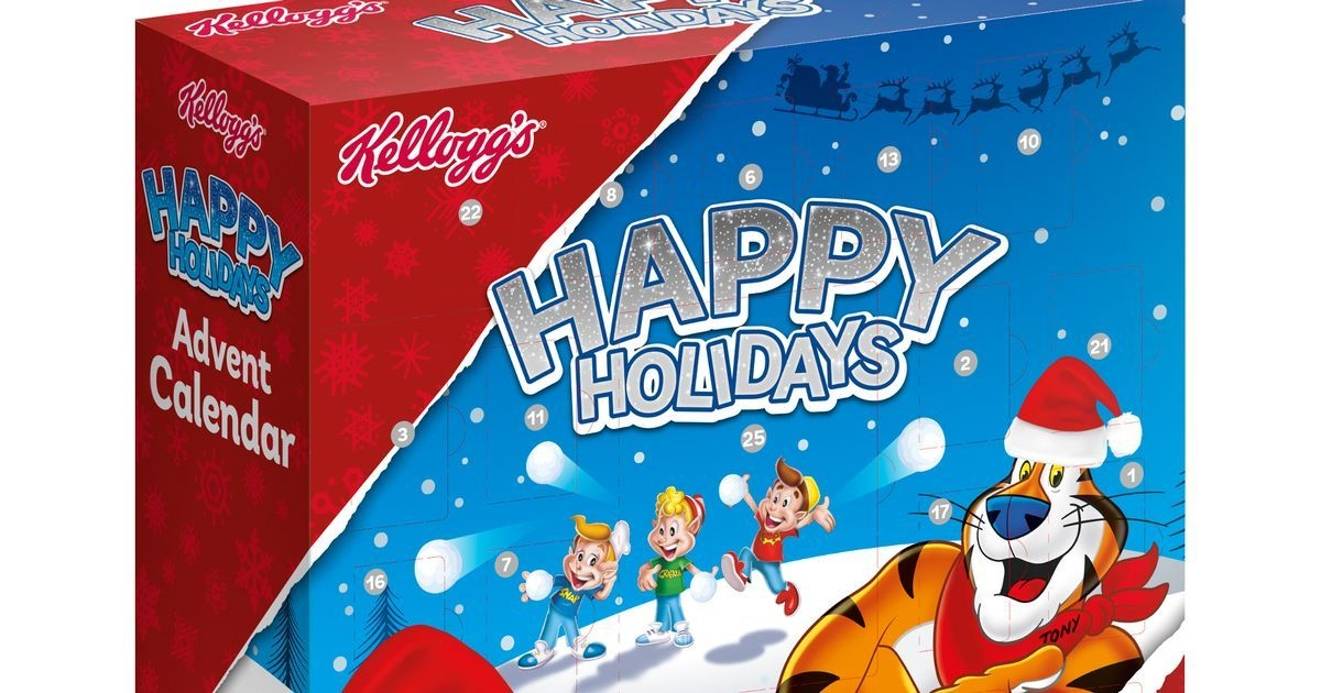 b&m launches a kelloggs cereal advent calendar featuring