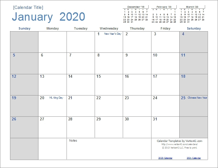Calander I Can Edit | Ten Free Printable Calendar 2020 2021