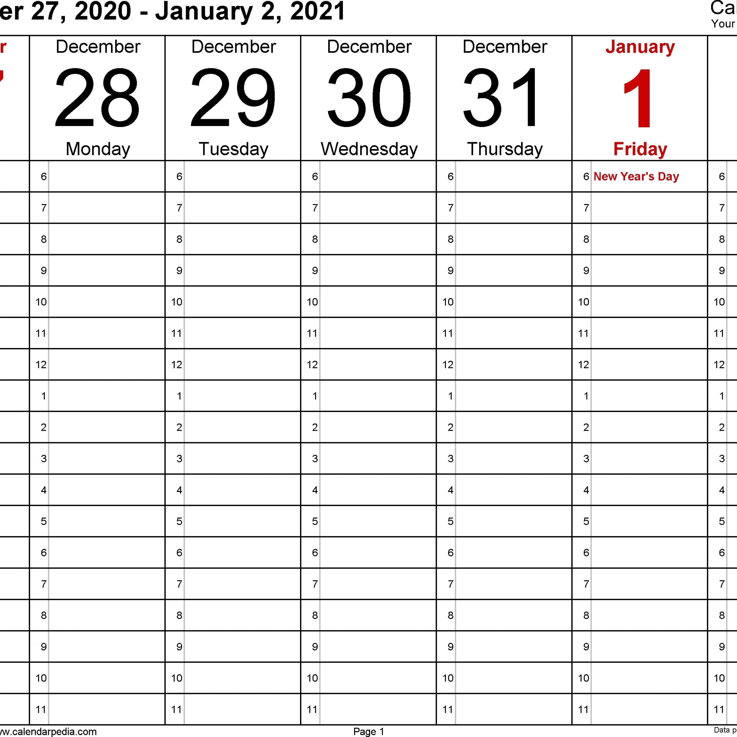 calendar 2021 fillable weekly for time saving | avnitasoni