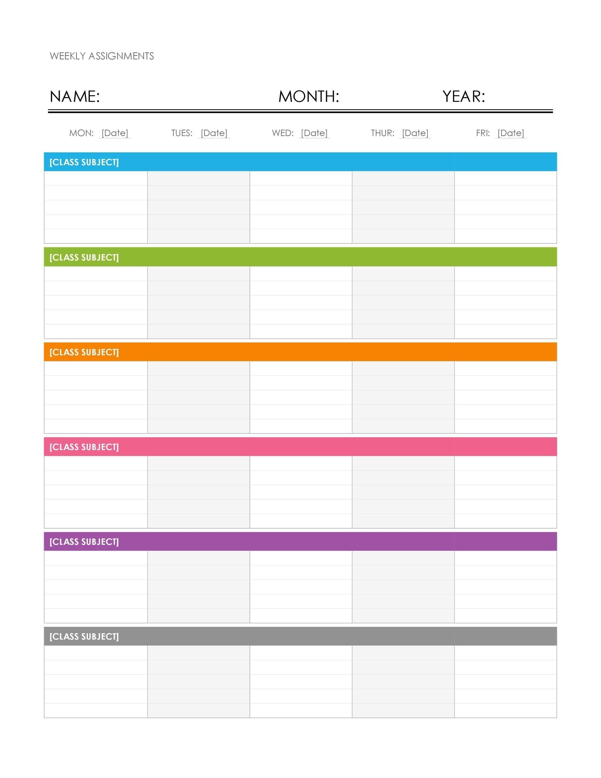 calendar week format excel | ten free printable calendar