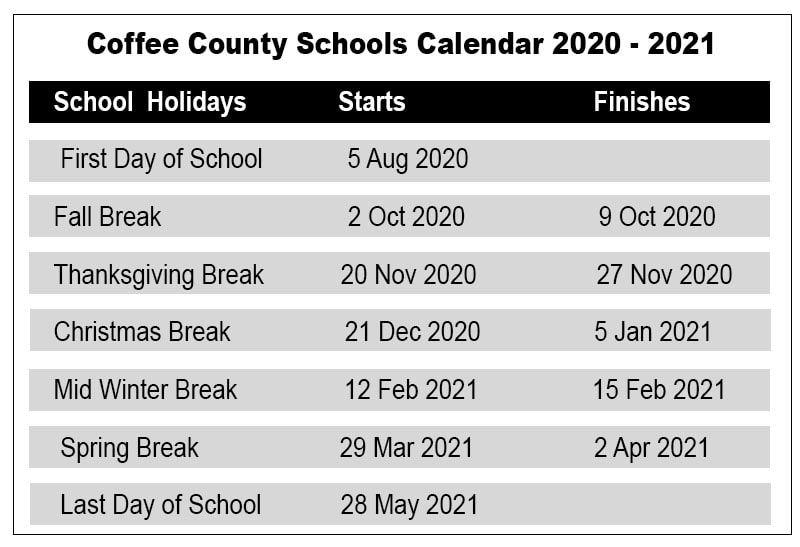Coffee County Calendar Image Of Coffee And Tea