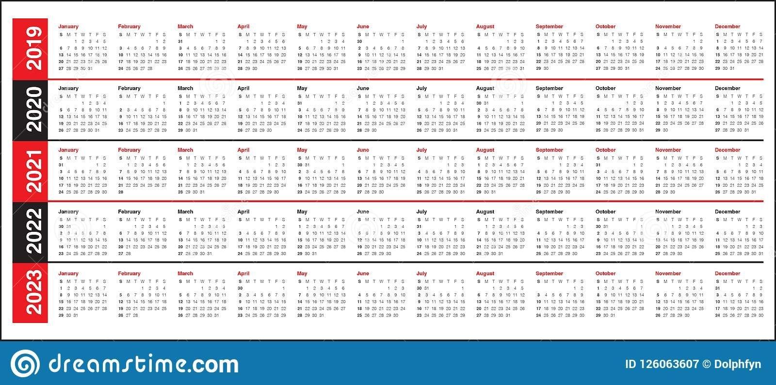 collect three year calendar 2020 2021 2022 | calendar