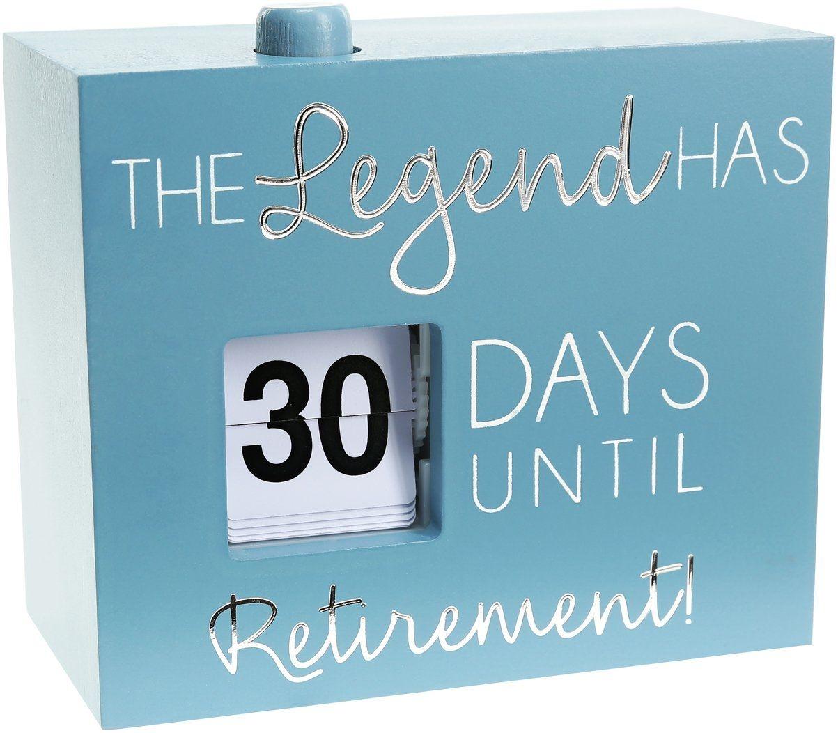 countdown to retirement calendar : free calendar template