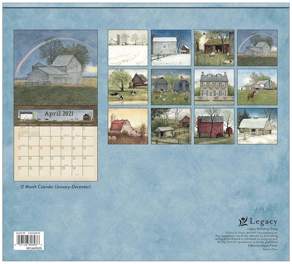 Country Path 2021 Wall Calendar | Lang Store