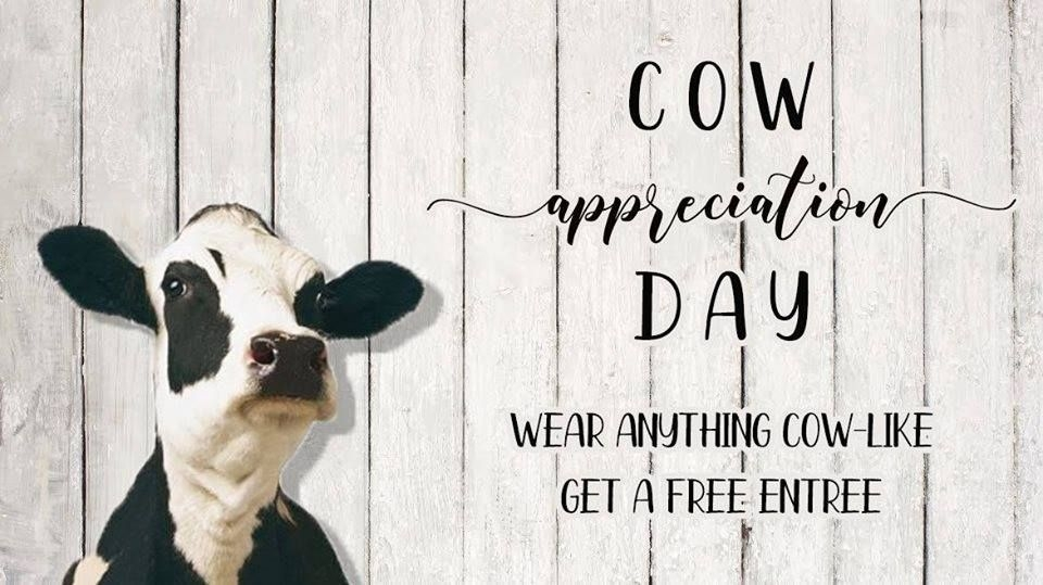cow appreciation day 2019 travelers rest here