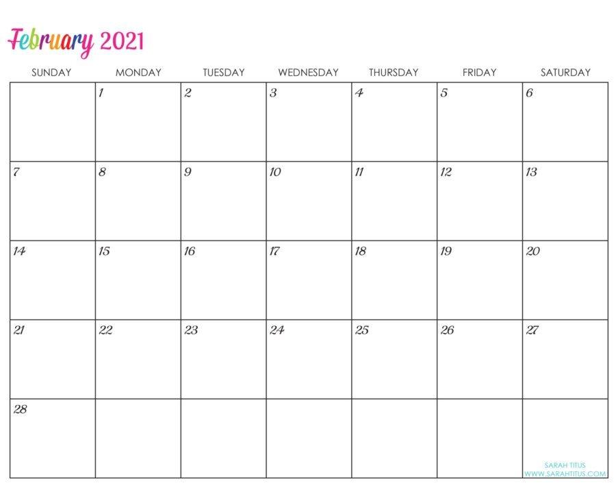 custom editable 2021 free printable calendars sarah