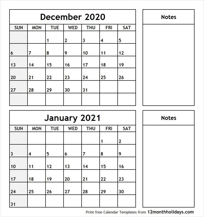 december 2021 printable calendar pinterest in 2020