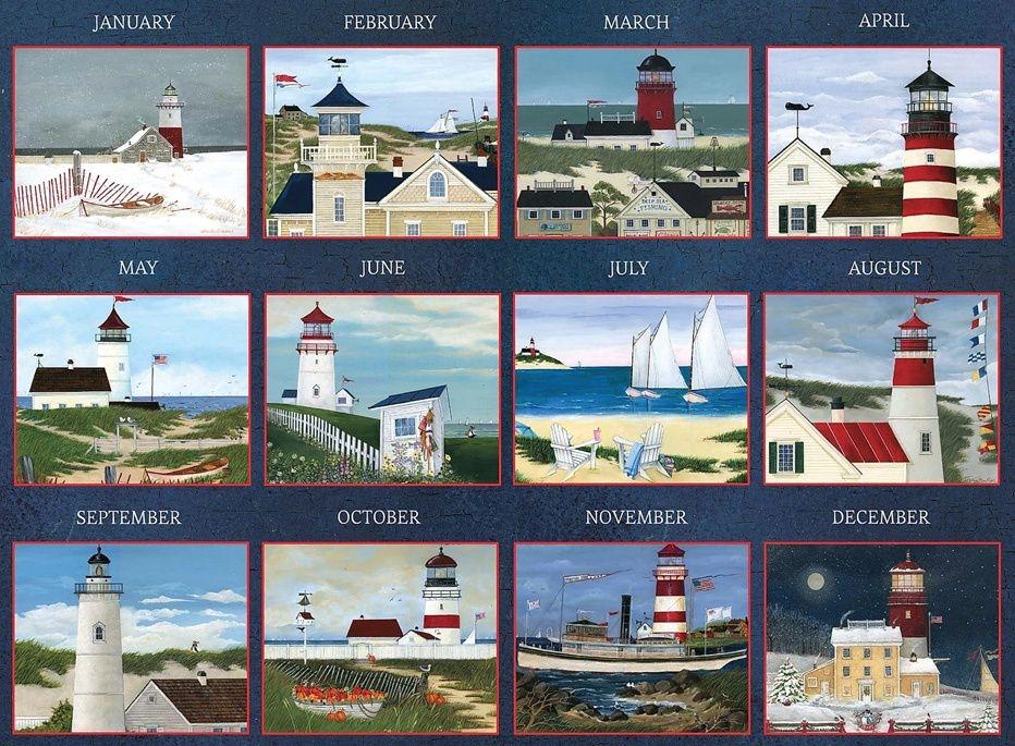 Delafield Lighthouse 2021 Wall Calendar | Lang Store
