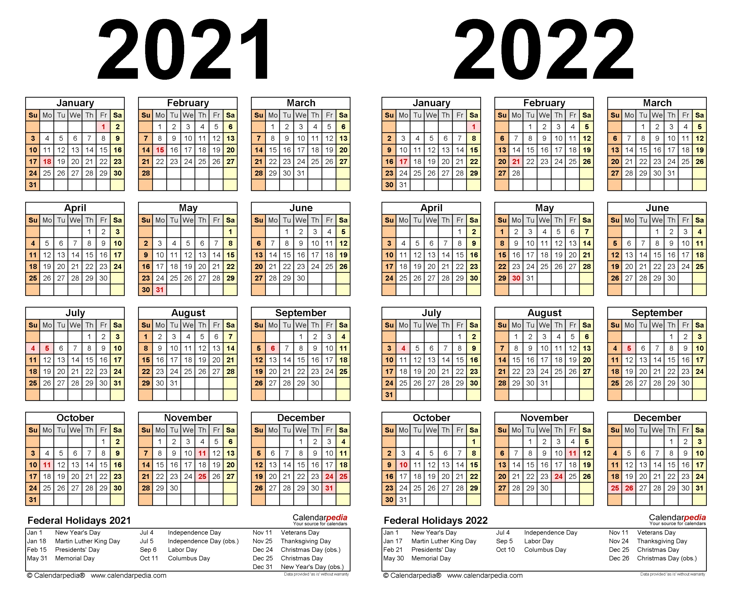 Excel Calendar 2021 With Week Numbers | Calendar