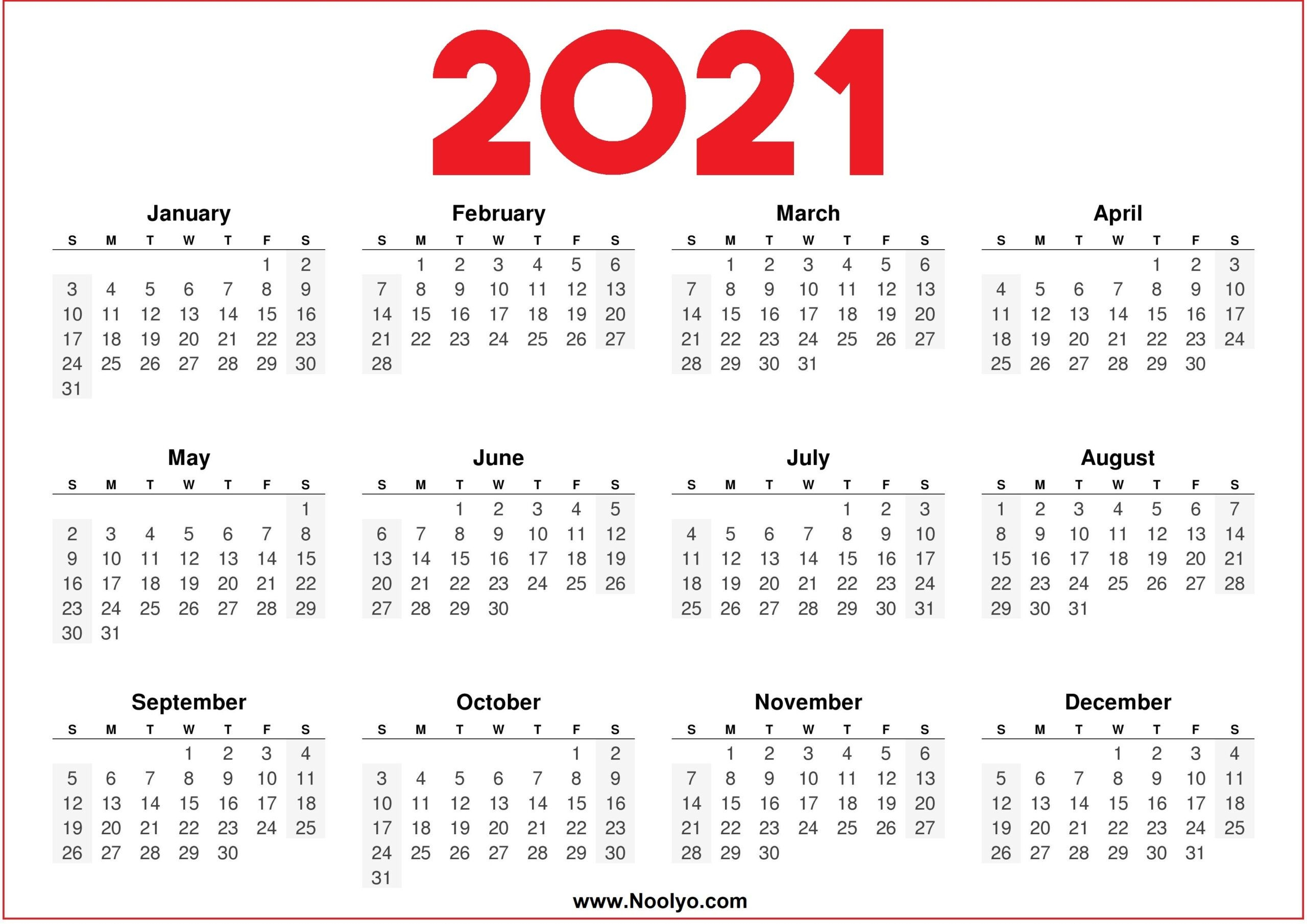 fill andprint a calendar 2021   calendar printables free blank