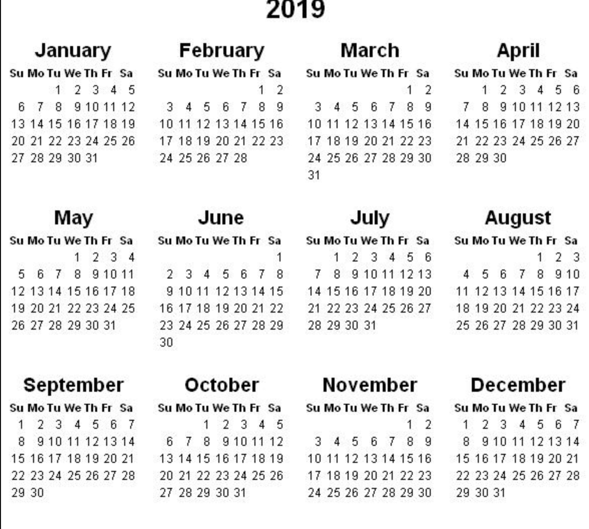 fill in printable calendar 2021 | calendar printables free
