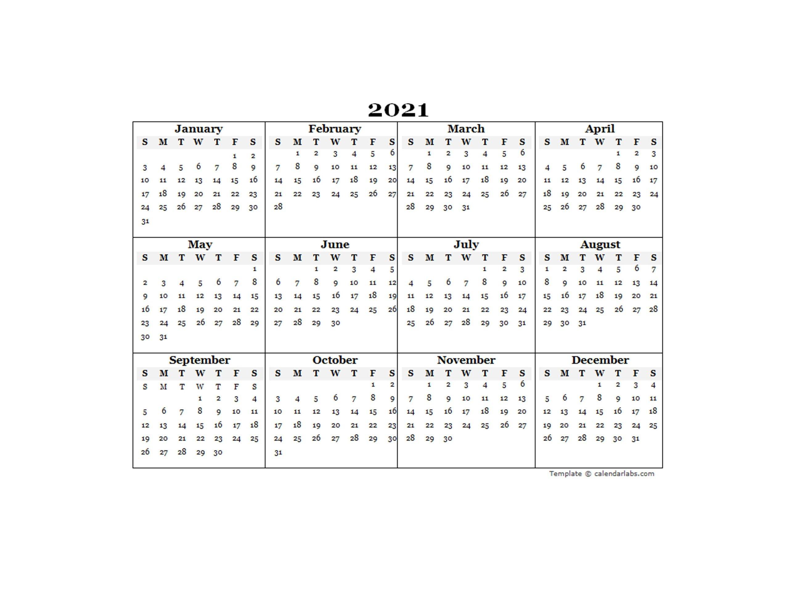 free editable 2021 calendars | calendar printables free blank