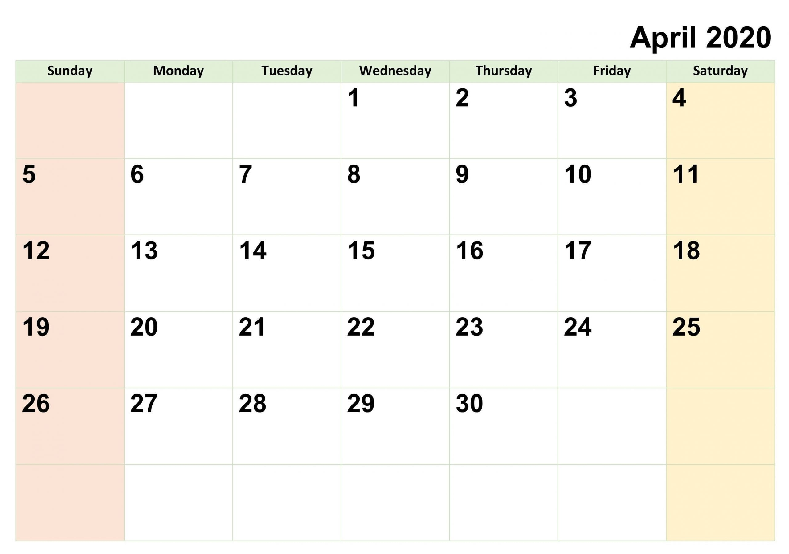 Free Fillable Calendars 2021 | Calendar Template Printable
