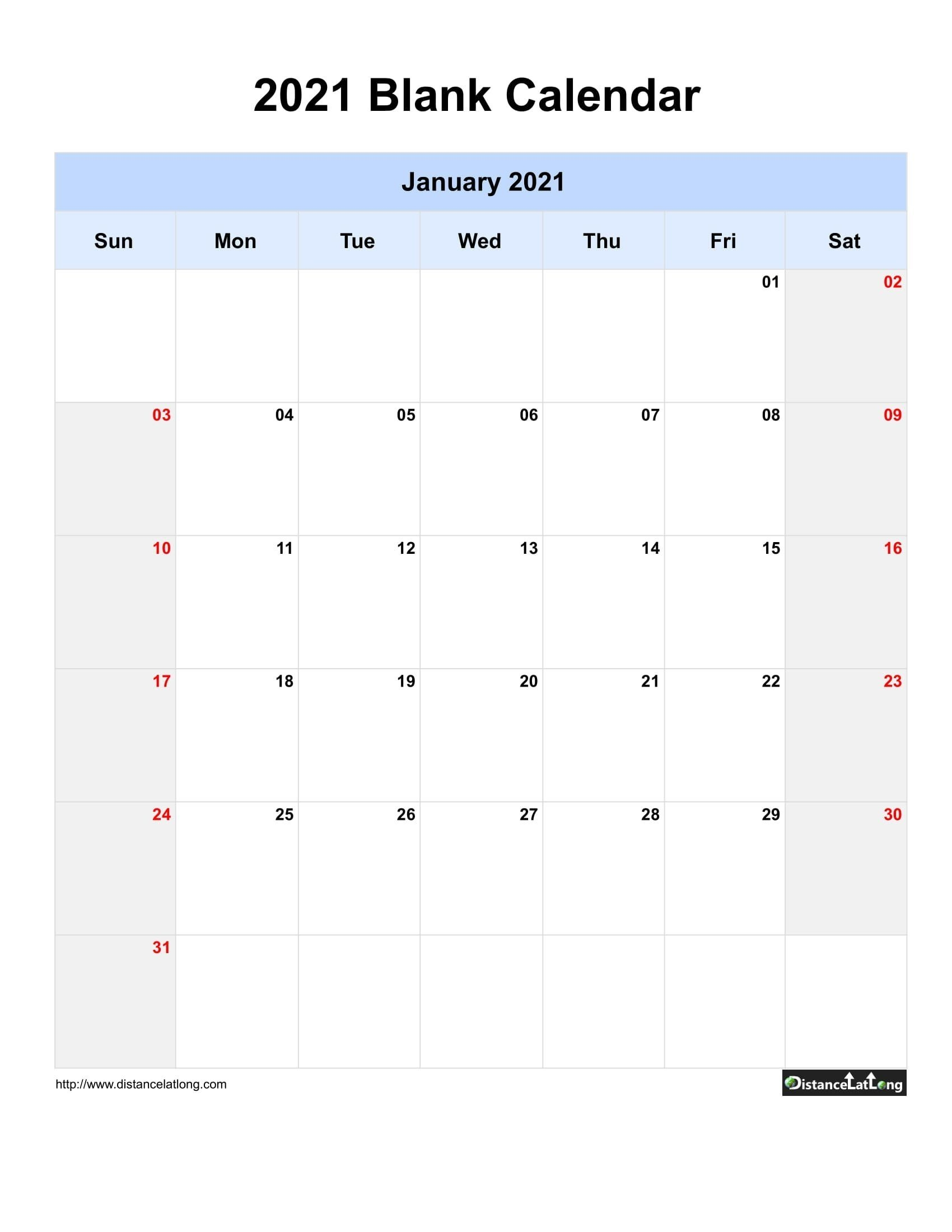 Free Free Blank Calendars 2021 That I Can Type On   Get