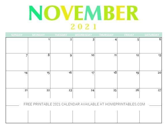 Free Printable 2021 Calendar Pdf: Clean And Pretty! In