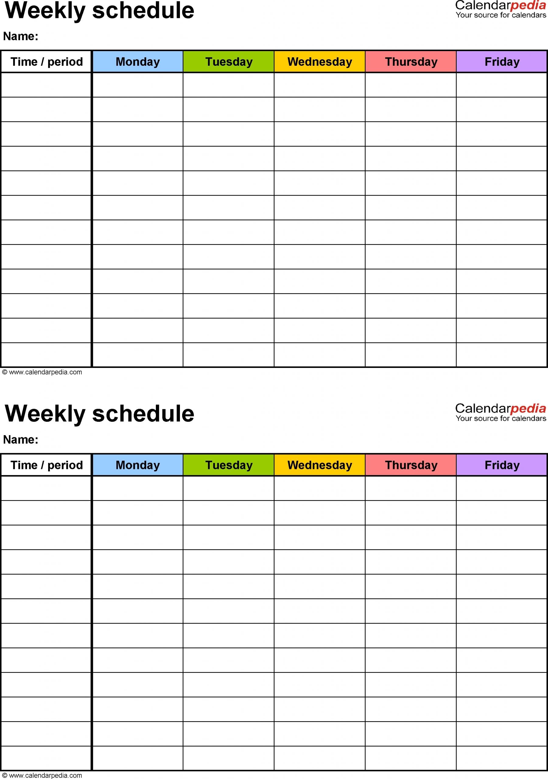 free printable 7 day weekly calendar | month calendar