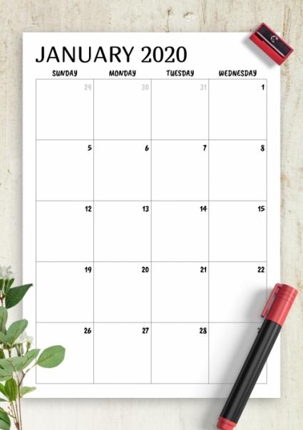 Free Printable Bill Calendar 2021 | Free Letter Templates