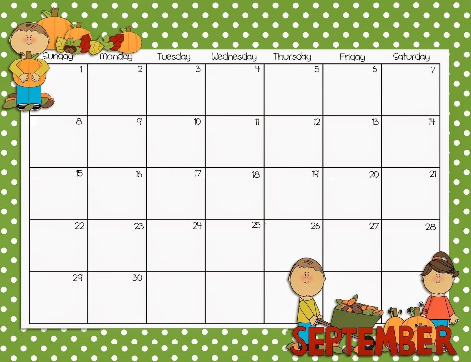 free printable calendar for teachers | ten free printable