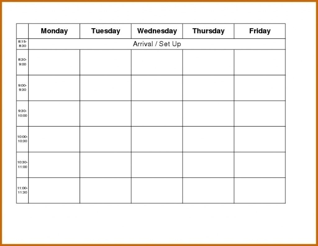 free printable calendar monday through friday   month