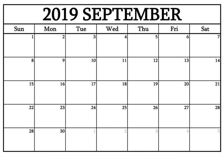 free printable calendar that you can type in