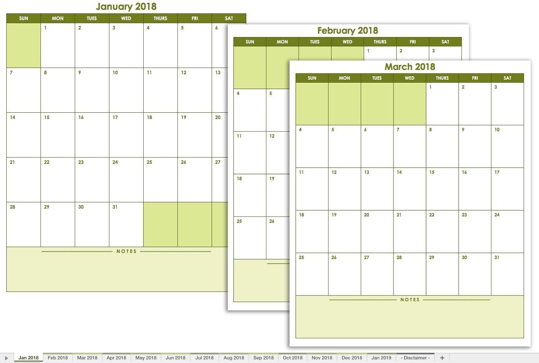 Free Printable Calendar You Can Edit | Month Calendar