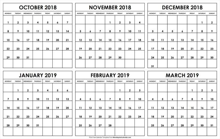 Free Printable Calendars That You Can Type In | Ten Free