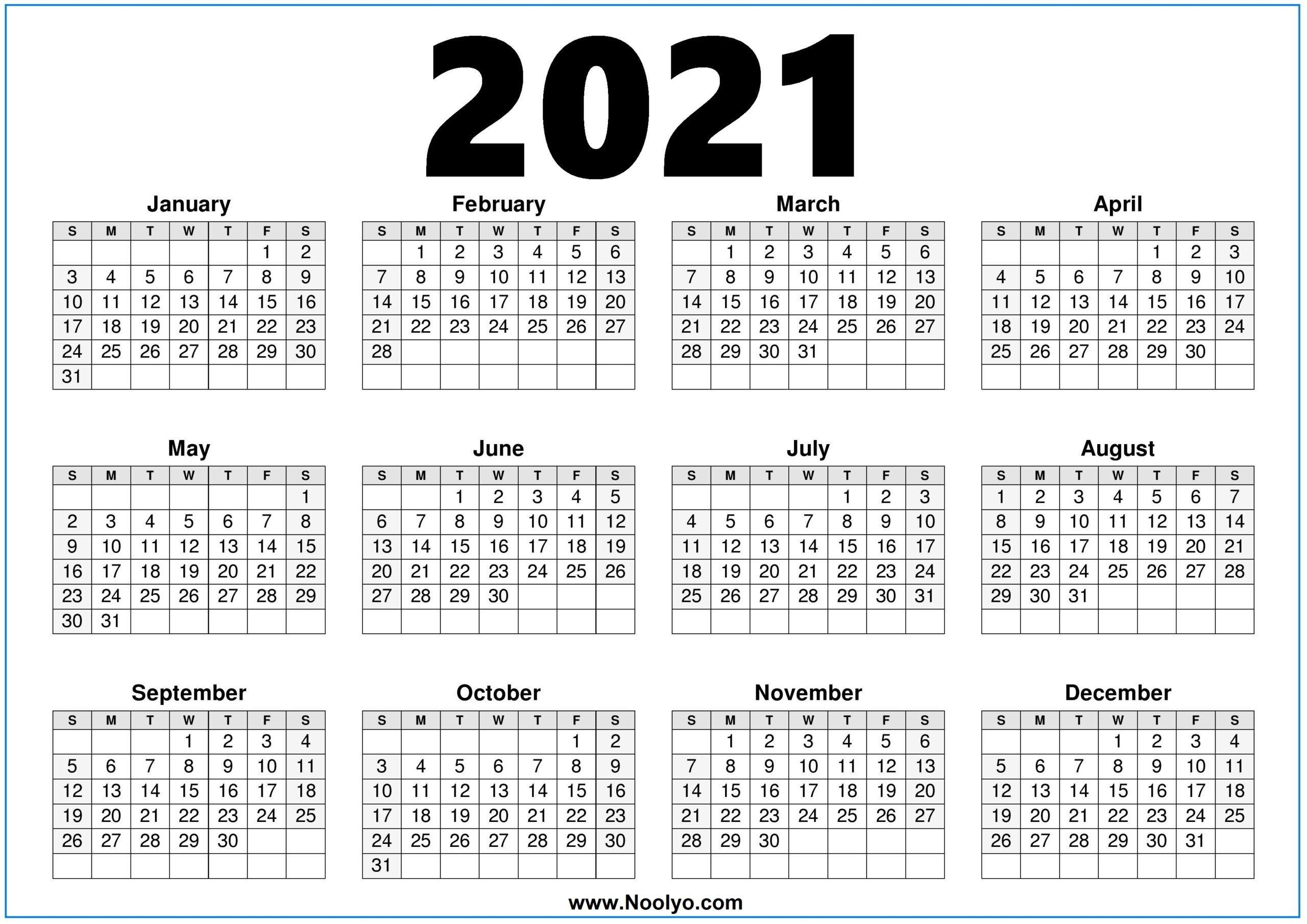 Free Printeable Pocket Calendar For 2021 | Calendar