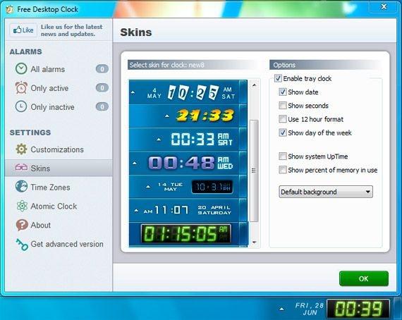 Free Tray Clock Windows 7 Help Forums