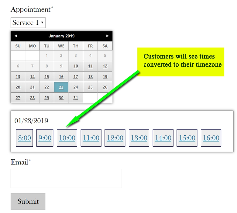 google calendar appointment slots time zone moversclever