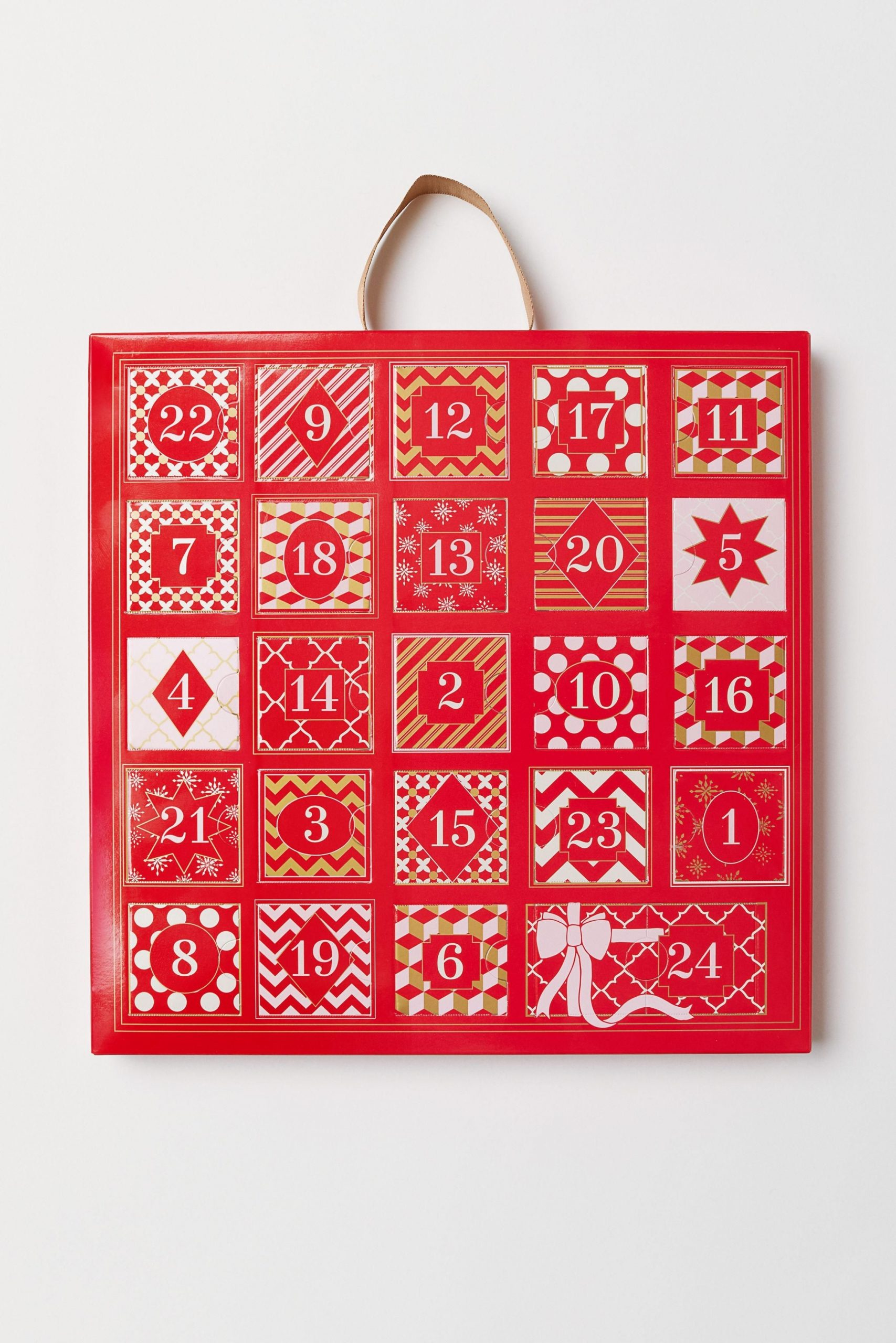 h&m synthetic advent calendar with jewellery in red lyst