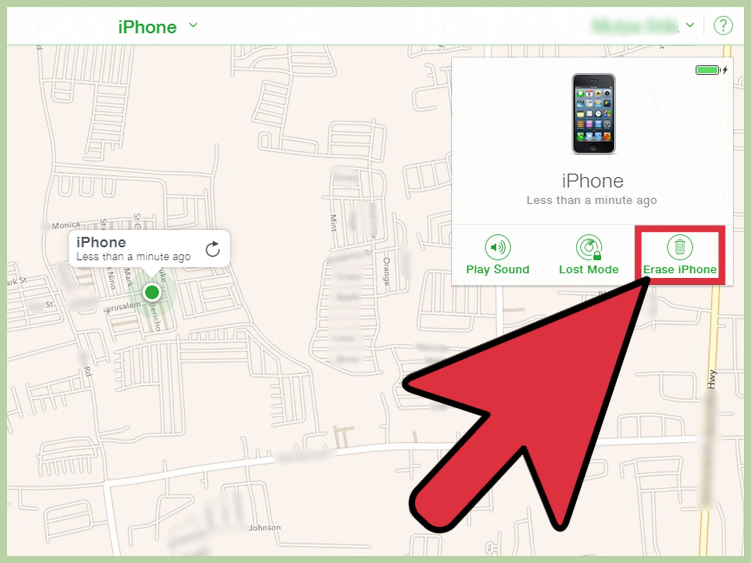 how to access find my iphone from a computer: 8 steps