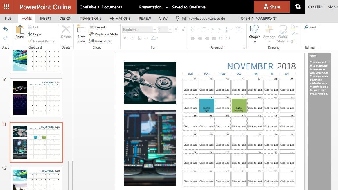How To Make A Custom Printable Calendar | Techradar