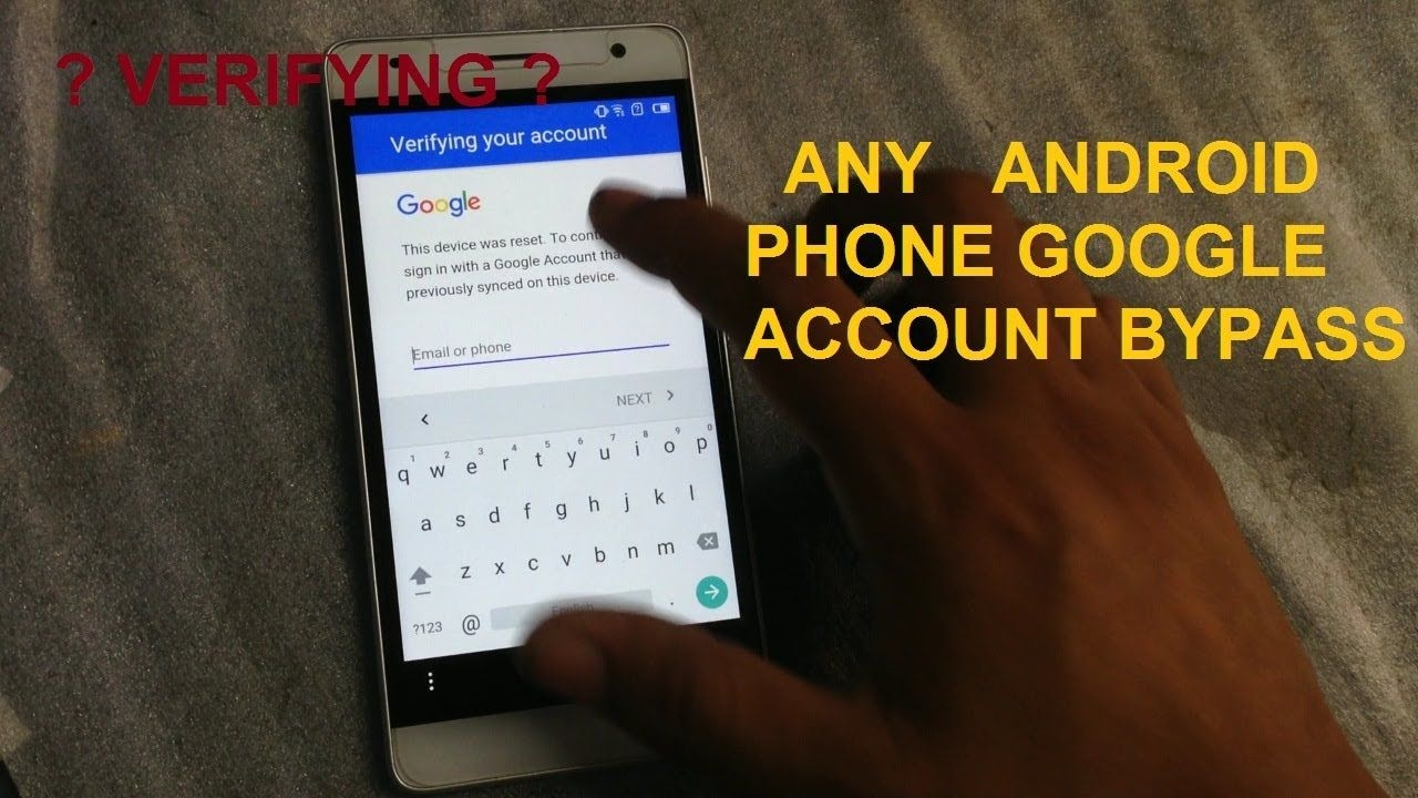 how to unlock google account any android phone youtube