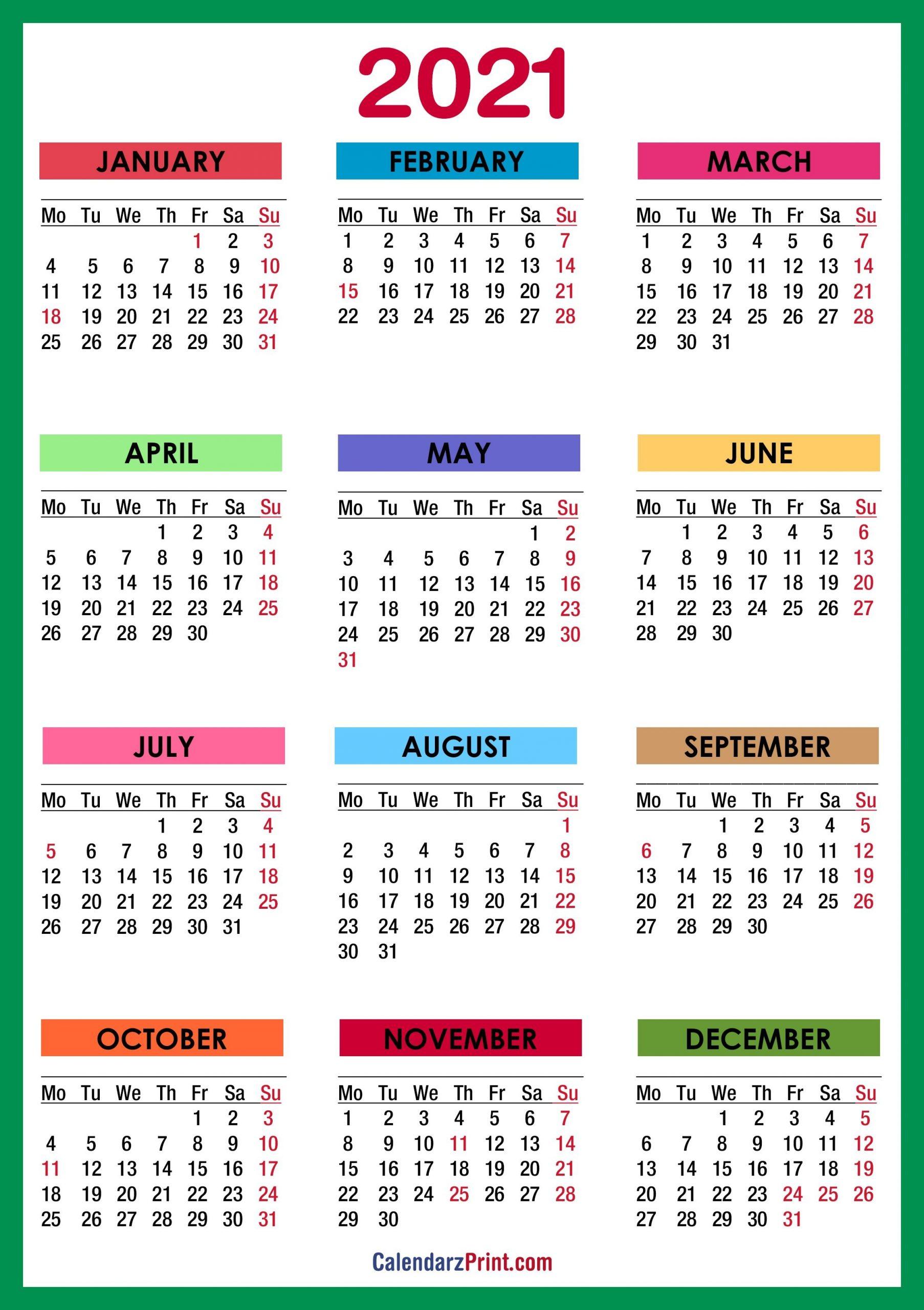 January 2021 Calendar Wallpaper Wallpaper Download 2021