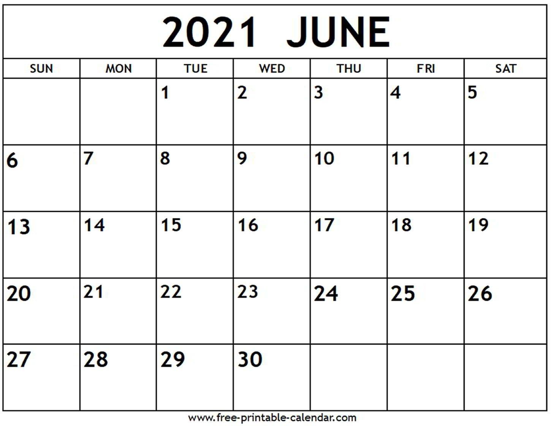 june 2021 calendar free printable calendar