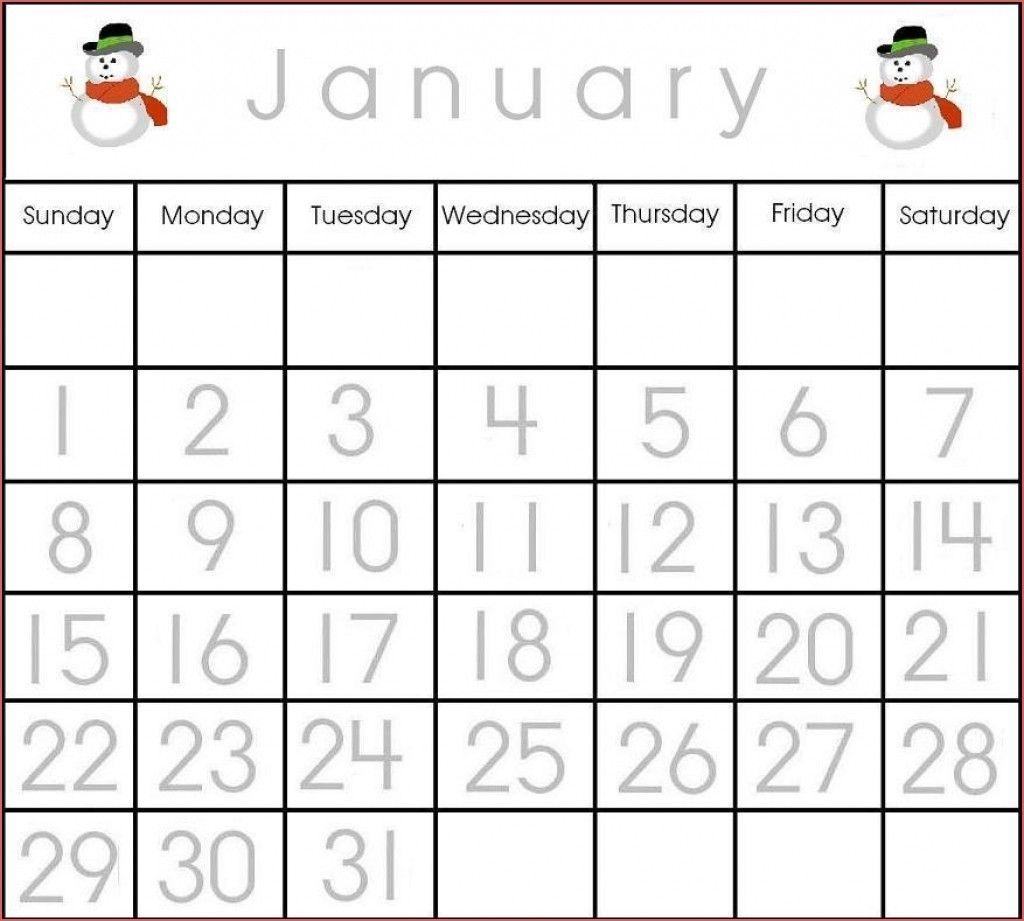 large printable calendar numbers 1 31 calendar