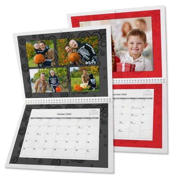 Make Your Own Photo Wall Calendar | Print Shop