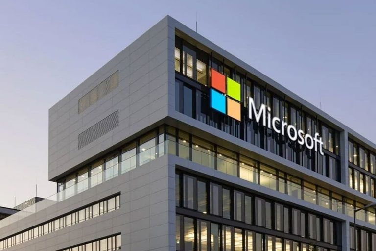 microsoft financial report was published in the second