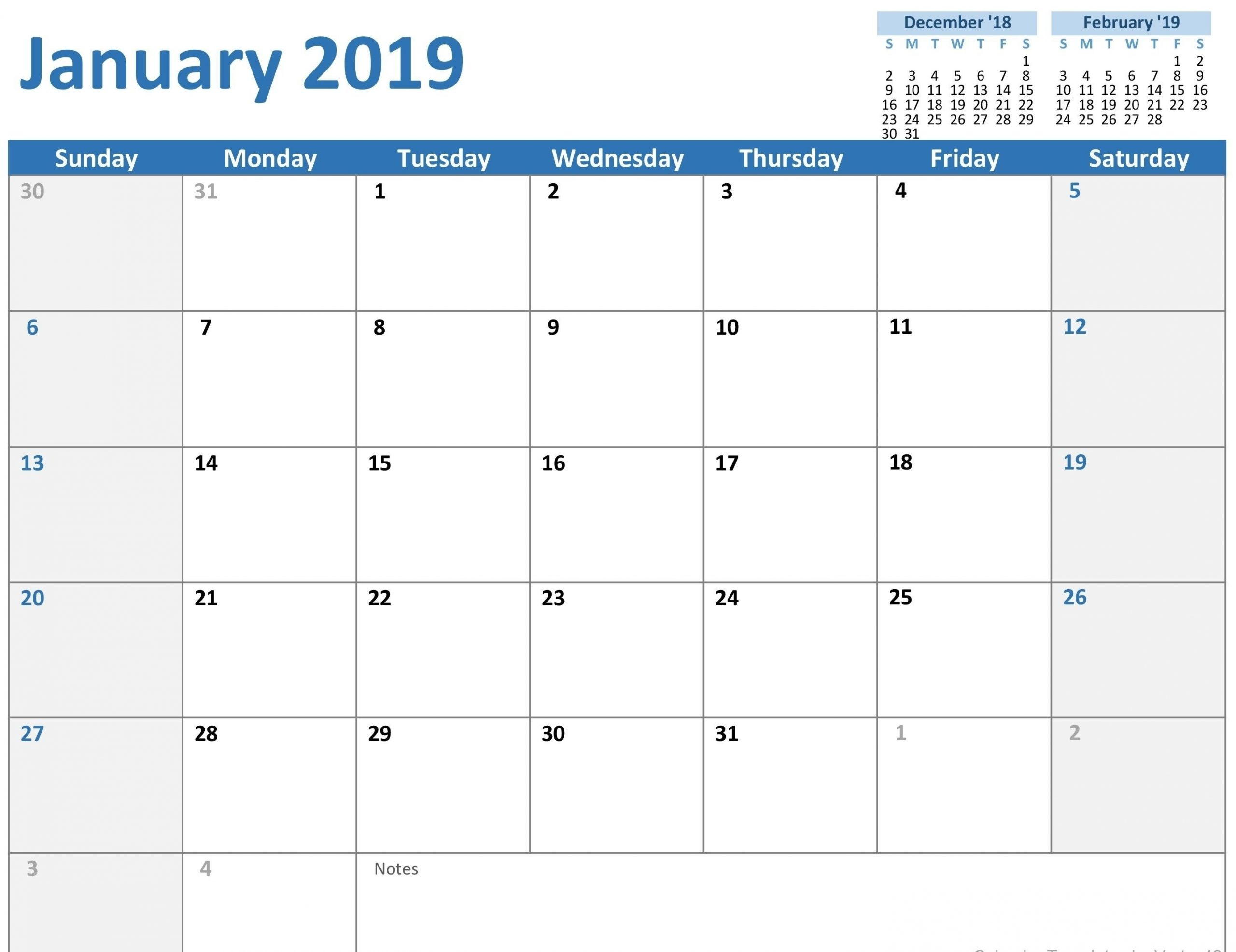 Monday Sunday Calendar Template Calendar Inspiration