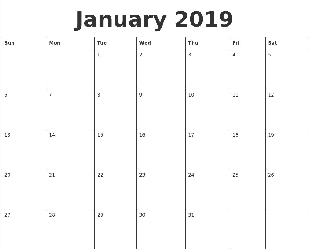 monday to sunday calendar printable | example calendar