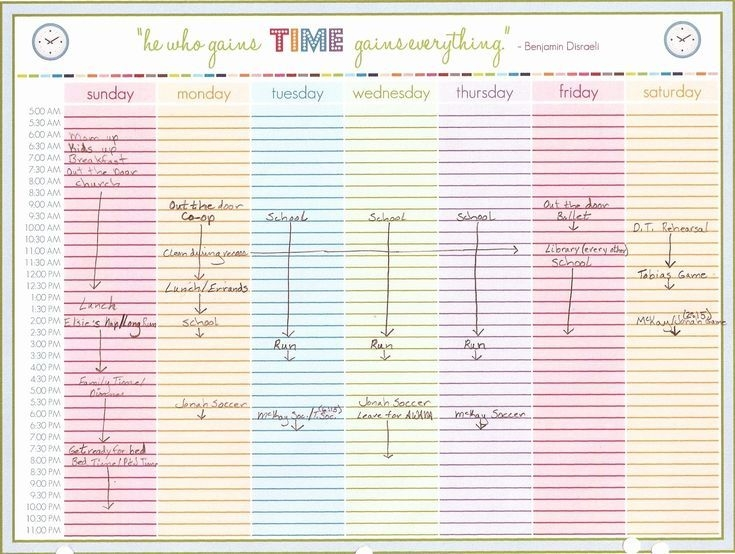 monthly calendar with time slots in 2020 | weekly calendar